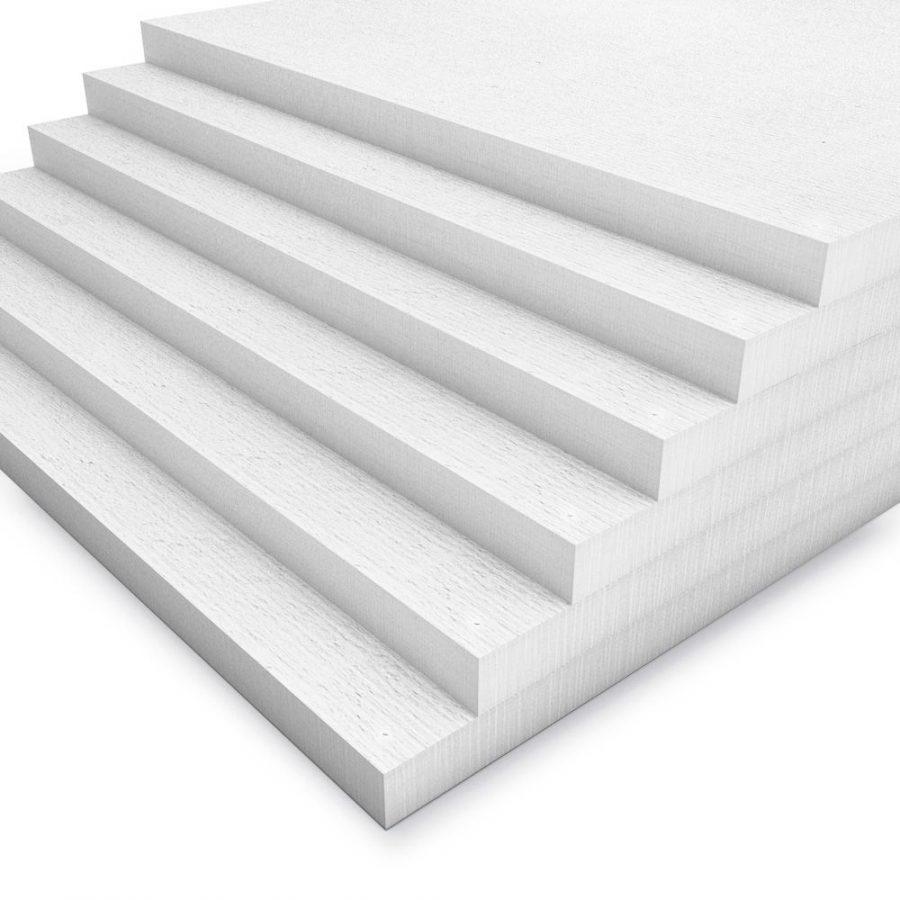 Kalziumsilikatplatten in 25mm als Mehrpack (weiss 1000mm x 500mm - Nahaufnahme)