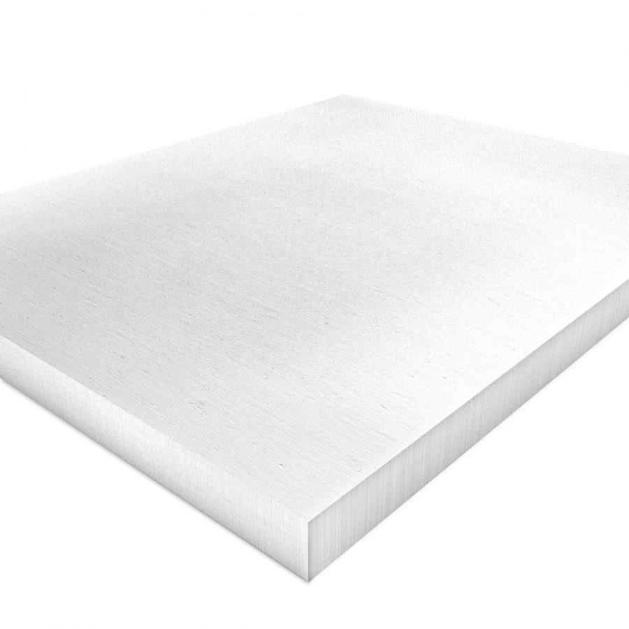 Kalziumsilikatplatten Innendaemmung Einzelplatte in weißgrau (nah). Maße 500mm x 625mm x 50mm
