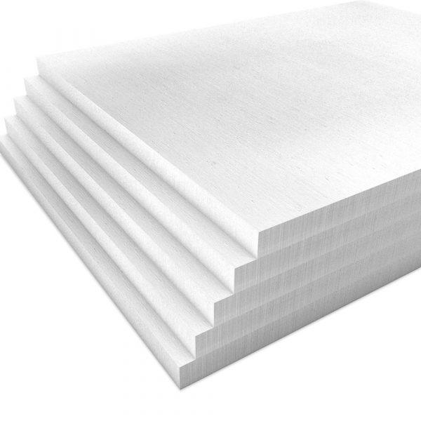 Kalziumsilikatplatten Innendaemmung Mehrpack in weißgrau (nah). Maße 500mm x 625mm x 25mm