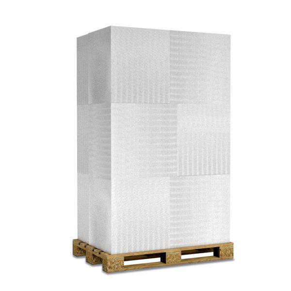 Kalziumsilikatplatten in 50mm als Palettenware (weissgrau 625mm x 500mm) für Großkunden und/oder Gewerbe