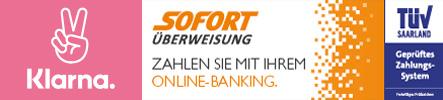 Klarna / Sofortüberweisung - TüV geprüft Logo