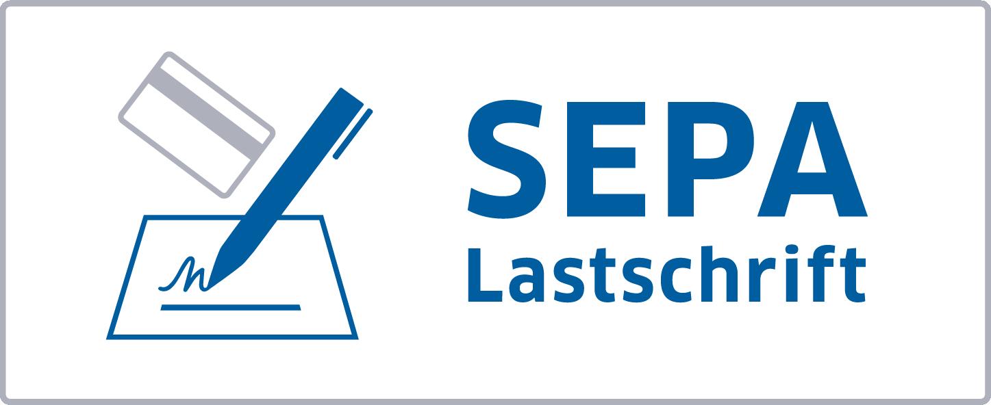Zahlungsart: SEPA Lastschrift Icon