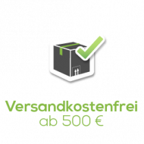 Versandkostenfrei ab 750 Euro