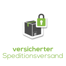 Versicherter Speditionsversand Icon