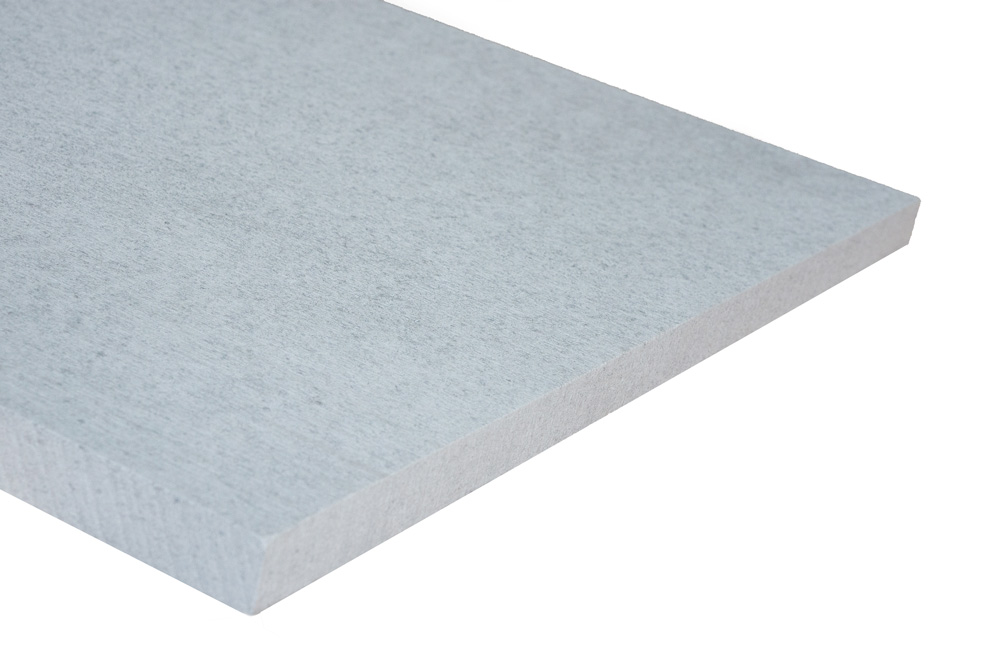 Vorgrundierte Kalziumsilikatplatte (Spachtelseite)