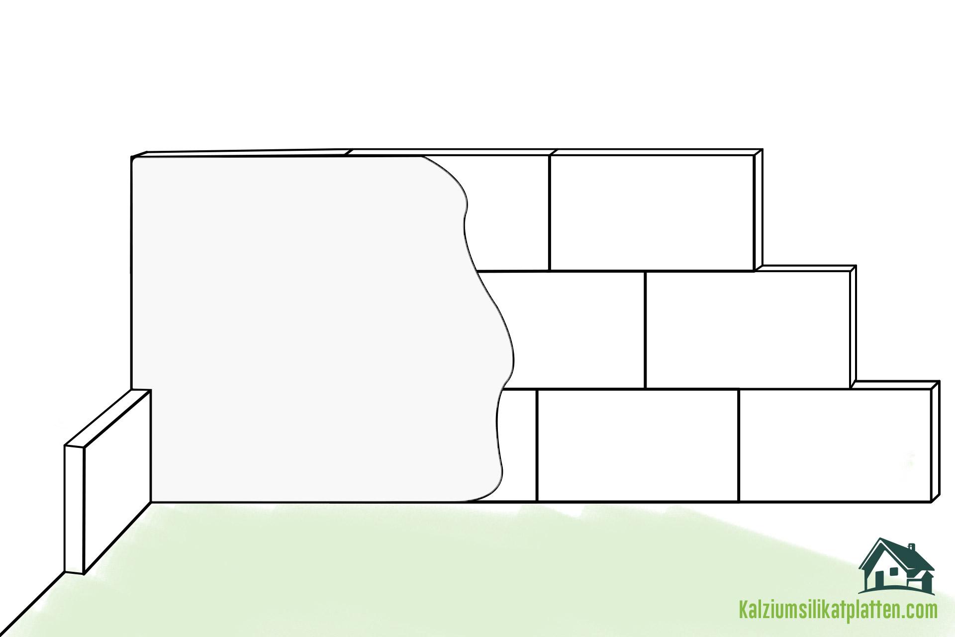 Anleitung zur Verarbeitung von Kalziumsilikatplatten: Kalkspachtel / Glätte als Oberputz aufziehen